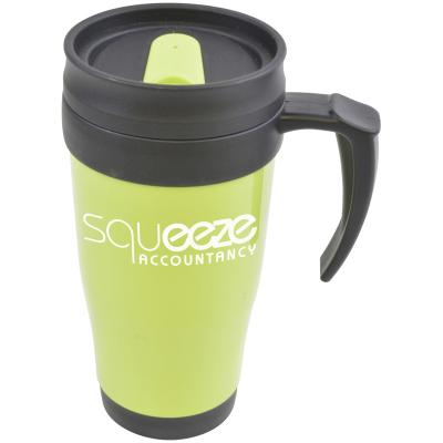 Image of Promotional plastic travel mug