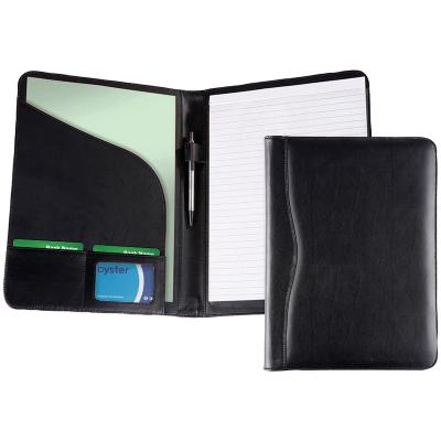 Image of Promotional Branded Leather Folder