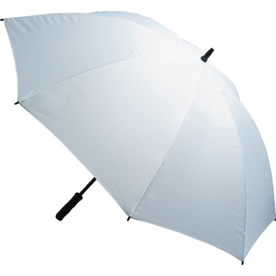 Image of Custom printed Fibreglass Storm Umbrella - White