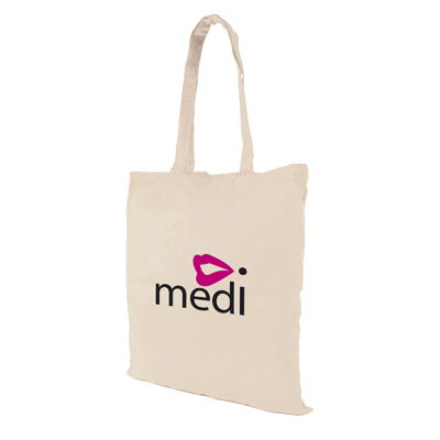 Image of Promotional shopper bag in natural colour