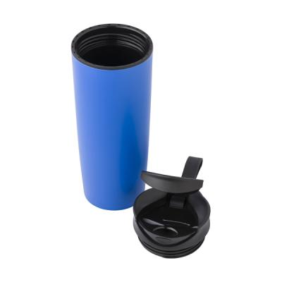Image of PP double walled, leak proof travel mug (450ml).