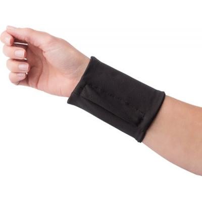 Image of Stretchable polyester wrist wallet