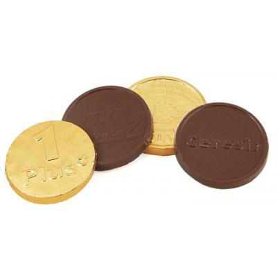 Image of Promotional Chocolate Coins - 55mm
