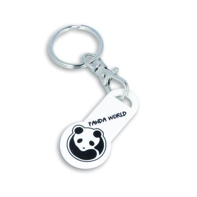 Image of Recycled EURO Trolley Stick Keyring