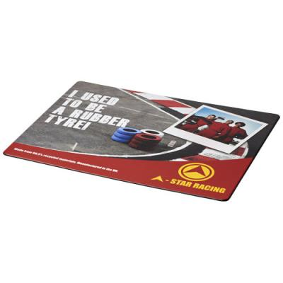 Image of Brite-Mat® mouse mat with tyre material