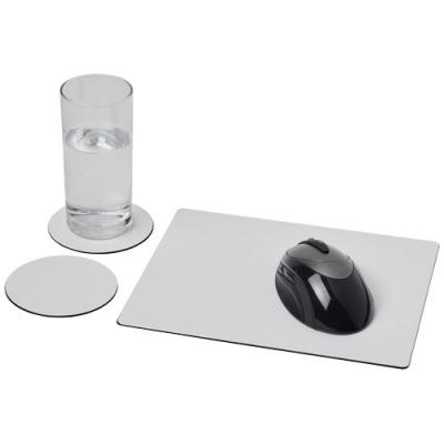 Image of Brite-Mat® mouse mat and coaster set combo 2