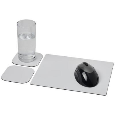 Image of Brite-Mat® mouse mat and coaster set combo 3